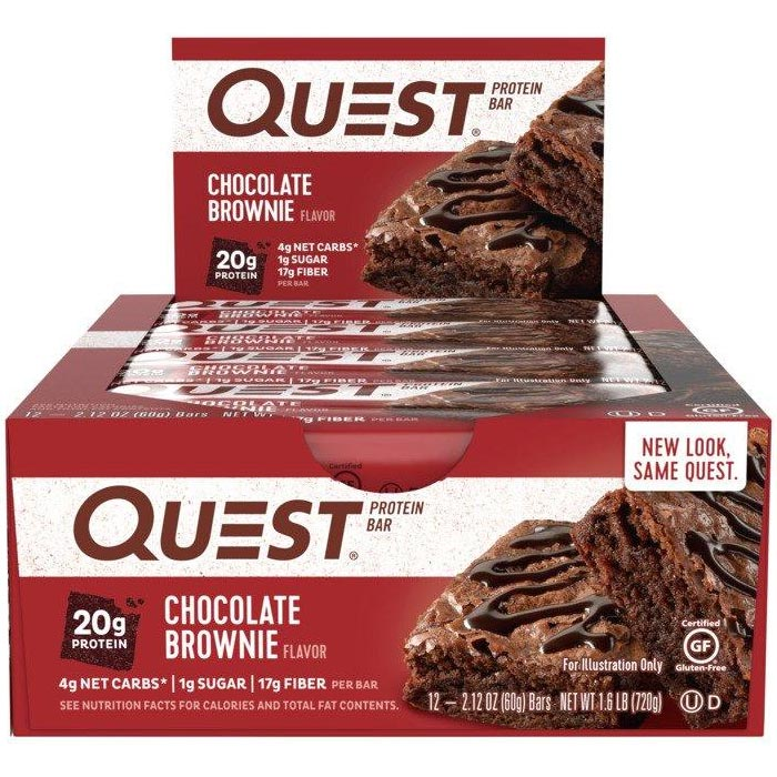 Image of Quest Nutrition Quest Bars 12 Bars Chocolate Brownie