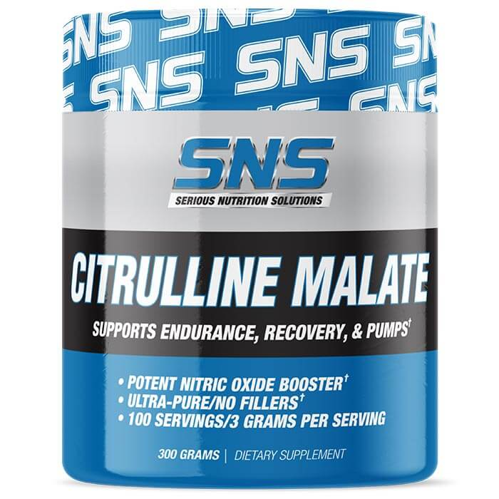 Image of Serious Nutrition Solutions Citrulline Malate 100 Servings