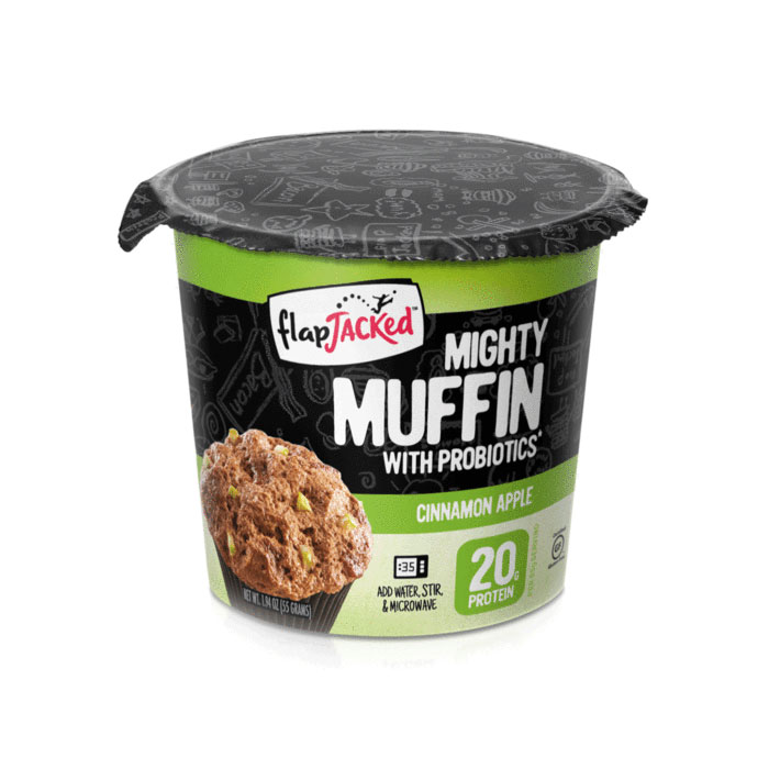 Mighty Muffins 1 Muffins Cinnamon Apple