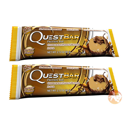 Quest Bars Short Dated 2 Bars Chocolate Peanut Butter November Expiry