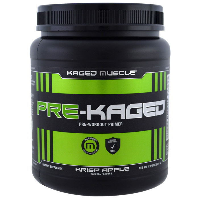 Image of Kaged Muscle Pre-Kaged 20 Servings Fruit Punch