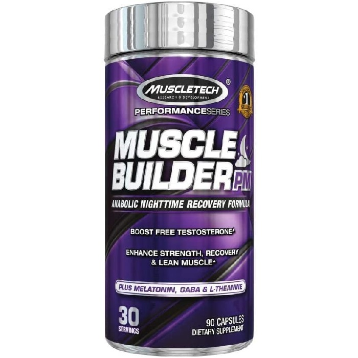 Buy Muscletech Muscle Builder PM Sleep and Muscle Gains