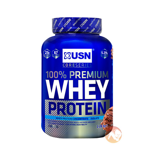 Whey Protein Premium 908g (2lb) - Strawberry Cream