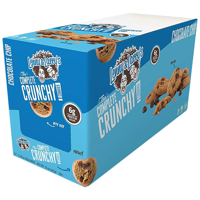Complete Crunchy Cookie 12 Bags Chocolate Chip