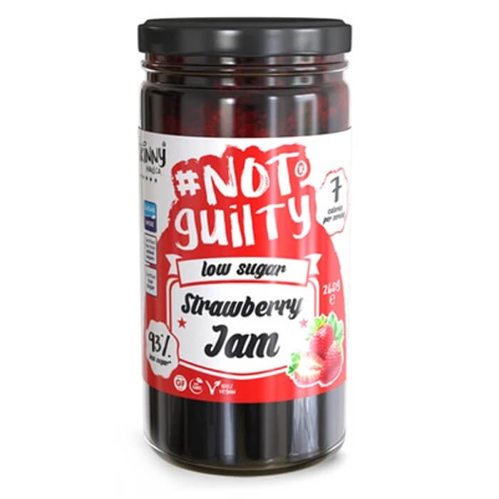 Image of The Skinny Food Co NotGuilty Low Sugar Strawberry Jam 260g
