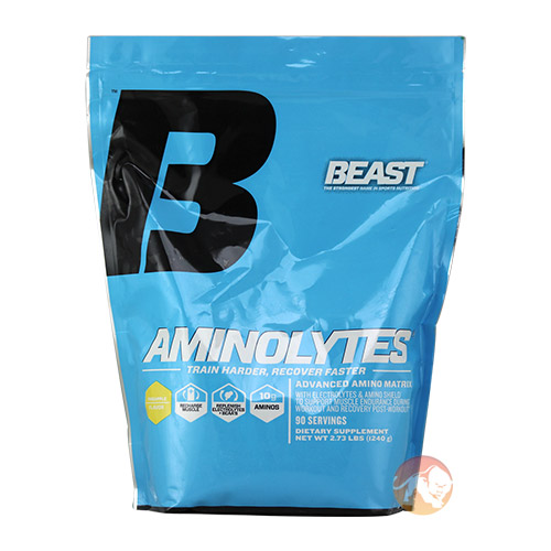 Image of Beast Sports Nutrition Aminolytes 30 Servings-Watermelon
