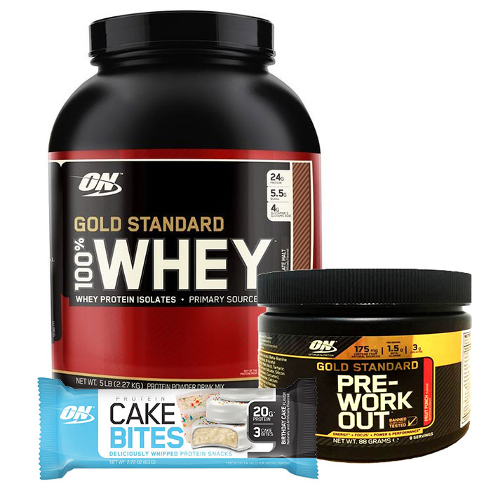 Gold Standard 100% Whey 2.27kg Cookies & Cream
