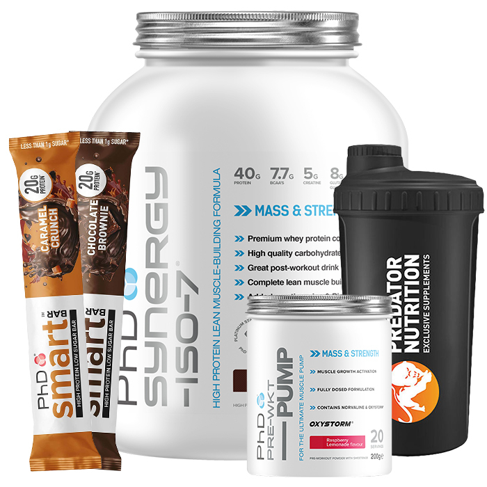 Image of PHD Nutrition Synergy Iso-7 2kg-Double Chocolate Cookie