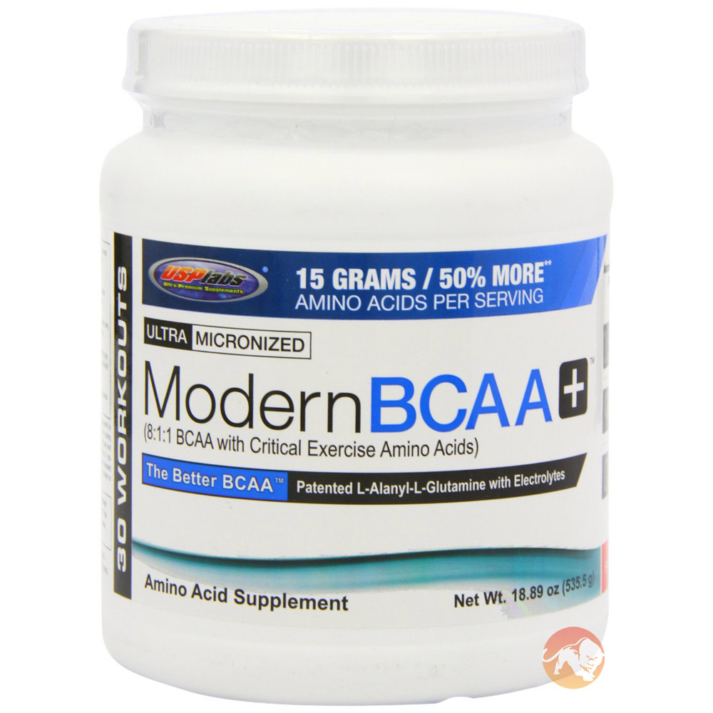 Image of USP Labs Modern BCAA+ 30 Servings Grape Bubble Gum