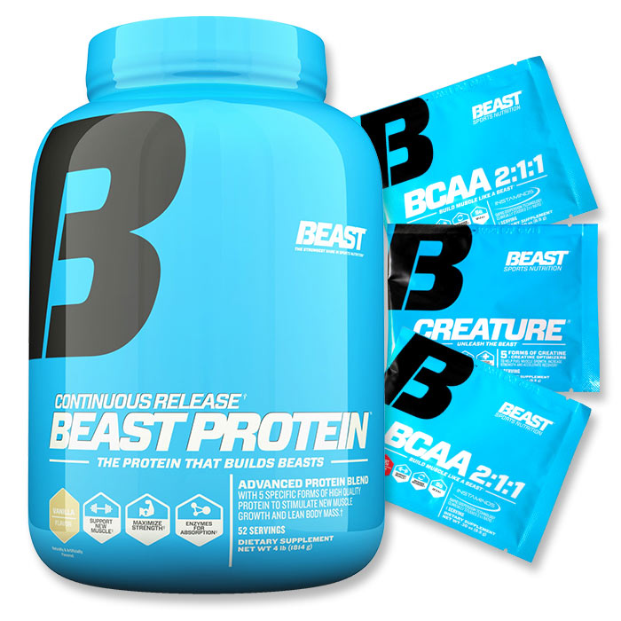 Beast Protein 1.82kg Chocolate