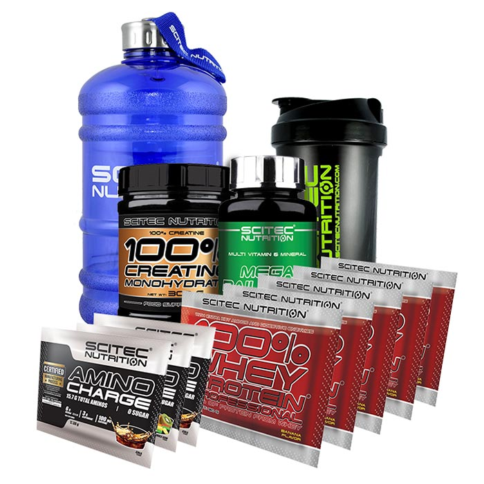 Купить Scitec Gift Pack Worth £66