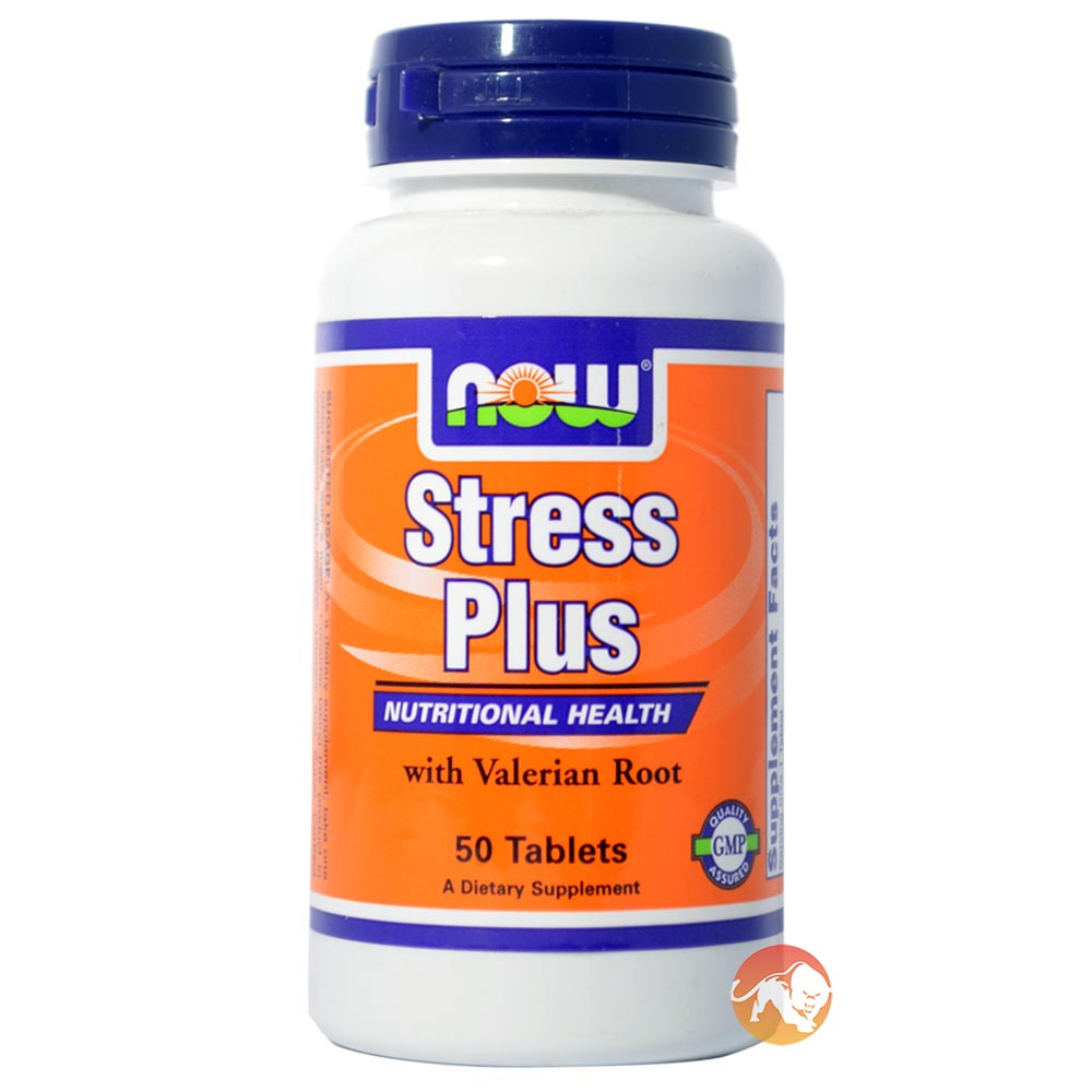 Image of NOW Foods Stress Plus 50 Tabs
