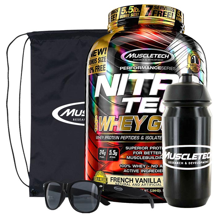 Nitro-Tech 100% Whey Gold 1.13kg Cookies and Cream