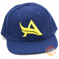 Snapback Navy Yellow One Size Fits All