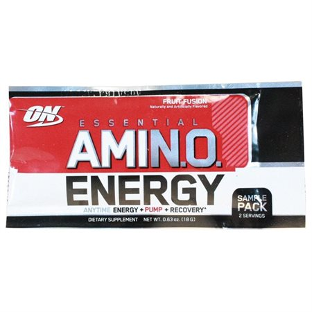 Amino Energy Trial Serving Strawberry Lime