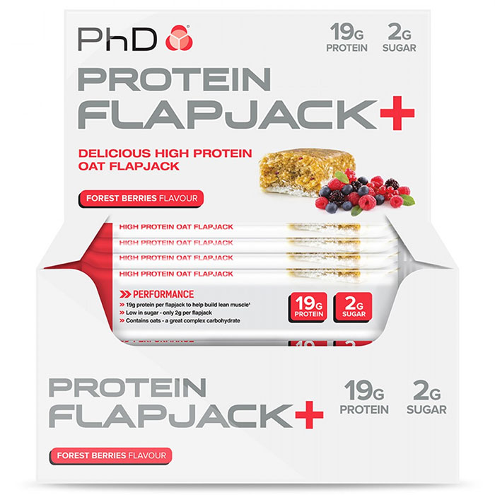 Protein Flapjack + 12 Bars Forest Berries