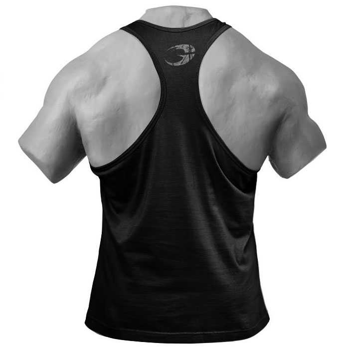 Image of GASP Clothing Distressed T- Back Black- L