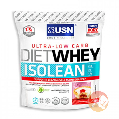 Diet Whey Isolean 1kg Cherry Bakewell