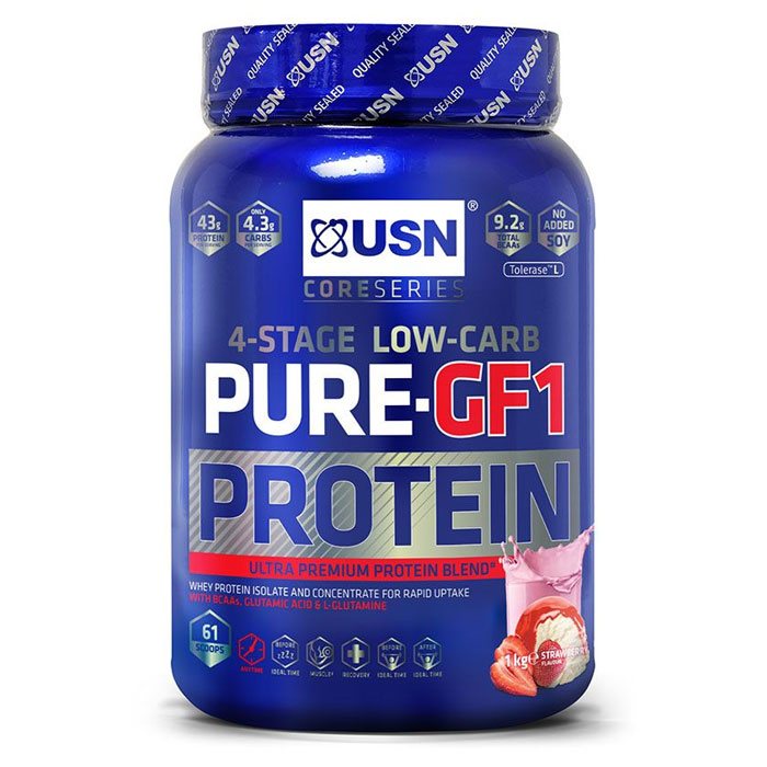 Pure Protein GF-1 1kg Strawberry