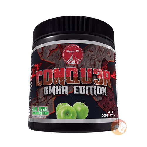 Image of Olympus Labs Conqu3r DMHA Edition Krushed Kandy 20 Servings