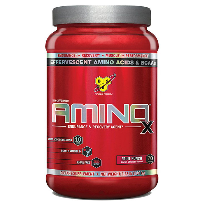 Image of BSN Amino X 70 Servings Fruit Punch
