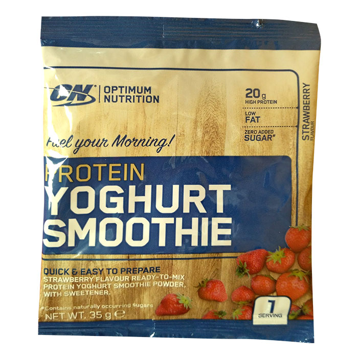 Optimum Nutrition Yoghurt Protein Trial Serving Strawberry