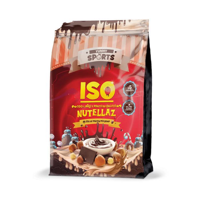 Image of Yummy Sports ISO 1kg Nutellaz