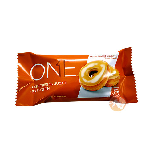 Oh Yeah One Bar Trial Bar Maple Glazed Doughnut