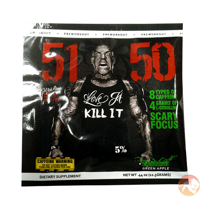 Image of 5% Rich Piana 5150 Single Serving Green Apple