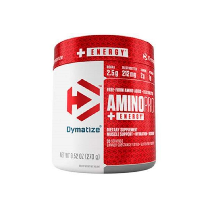 Image of Dymatize Amino Pro Energy 30 Servings Fruit Punch