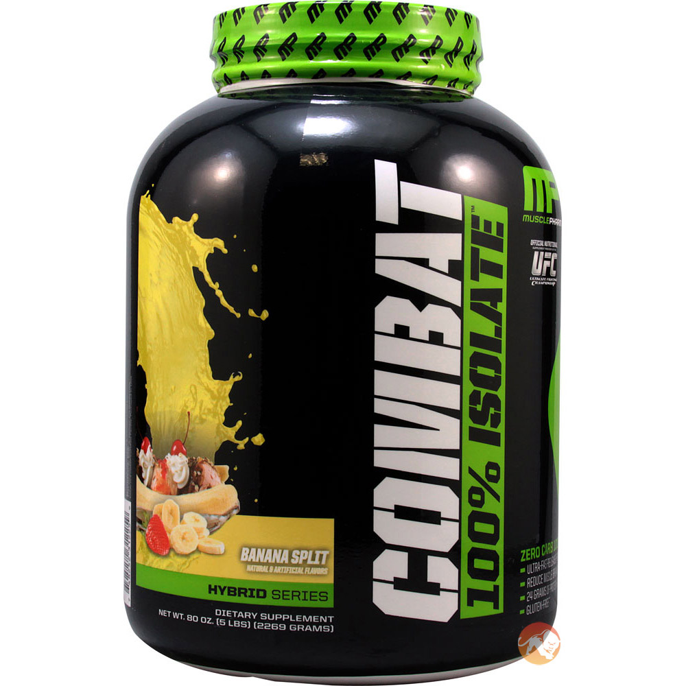 Image of MusclePharm Combat Isolate 1.8kg Chocolate Swirl