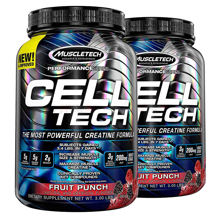 Image of Muscletech Cell-Tech Performance Series 1.4kg - Fruit Punch