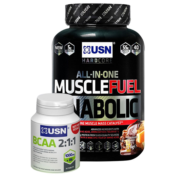 Muscle Fuel Anabolic 2kg Strawberry