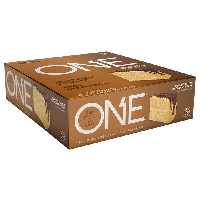 Image of Oh Yeah Nutrition Oh Yeah One Bar 12 Bars Peanut Butter Chocolate Cake