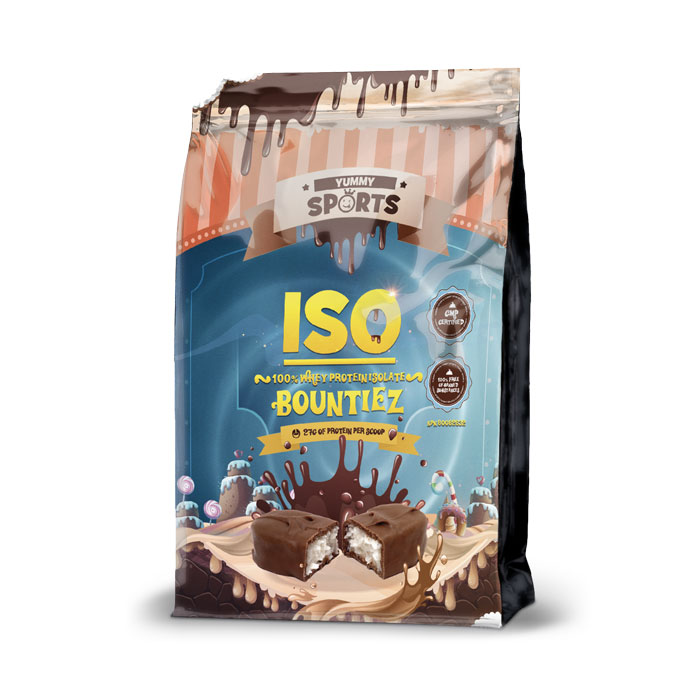 Image of Yummy Sports ISO 907g Coffee Wafers