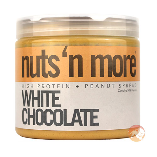 Image of Nuts'n more Nuts n More White Chocolate Peanut Butter 454g