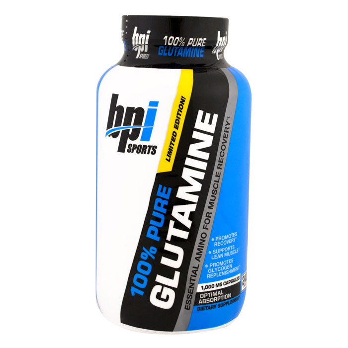 Image of BPI Sports BPI Pure Glutamine Capsules 240 Caps