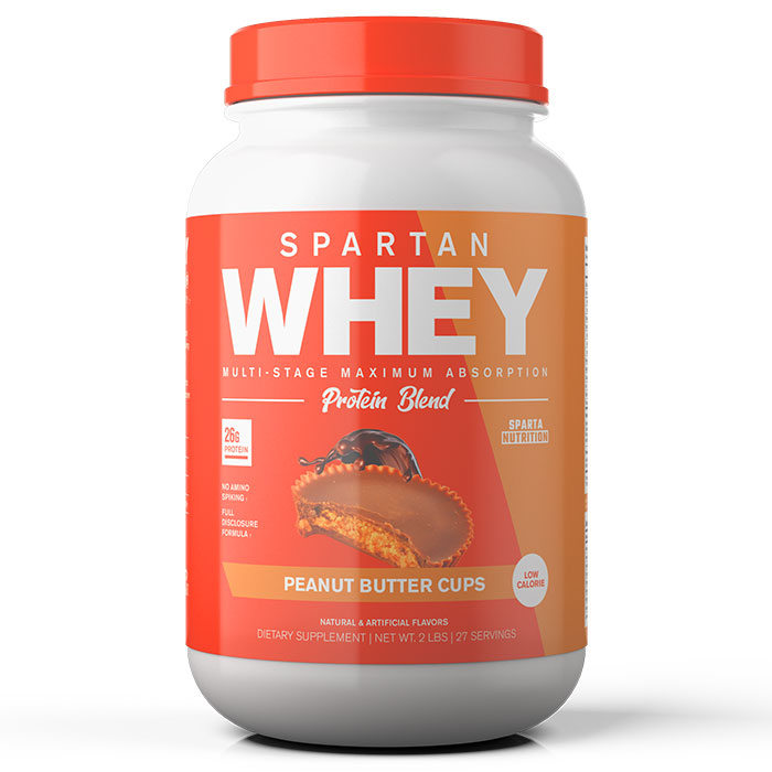 Image of Sparta Nutrition Spartan Whey 2lb Peanut Butter Cups