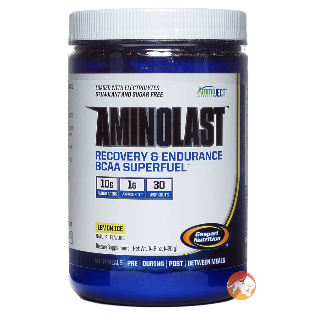 Aminolast 30 Servings Lemon Ice