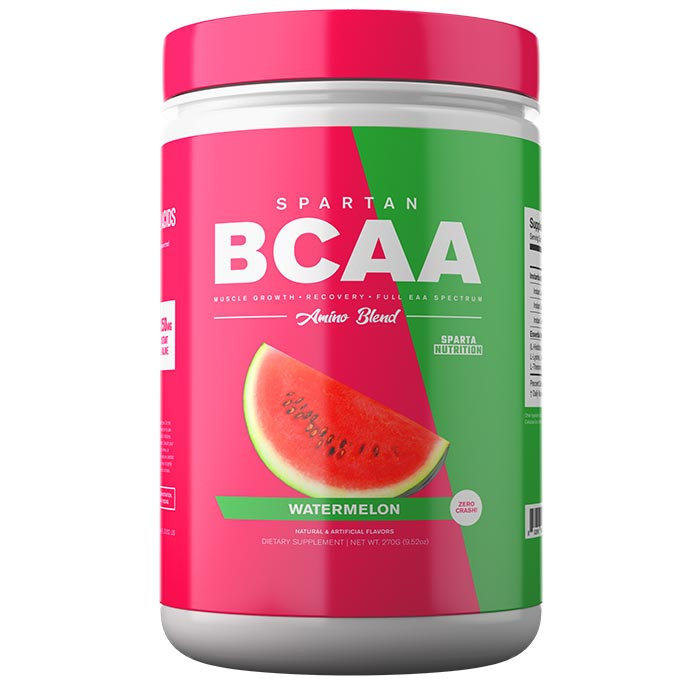 Image of Sparta Nutrition Spartan BCAA 30 Servings Watermelon