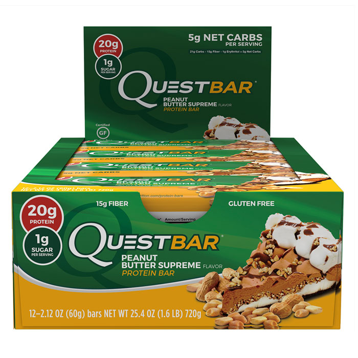 Quest Bars 12 Peanut Butter Supreme
