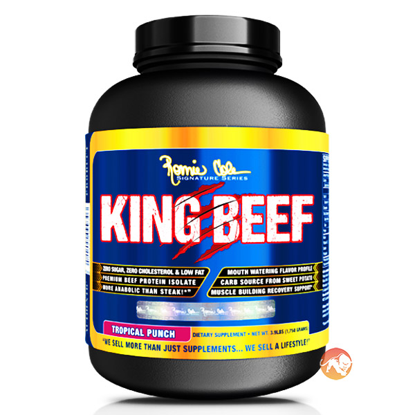 Image of Ronnie Coleman SignatureSeries King Beef 1.8kg (4lb)-Tropical Fruit Punch