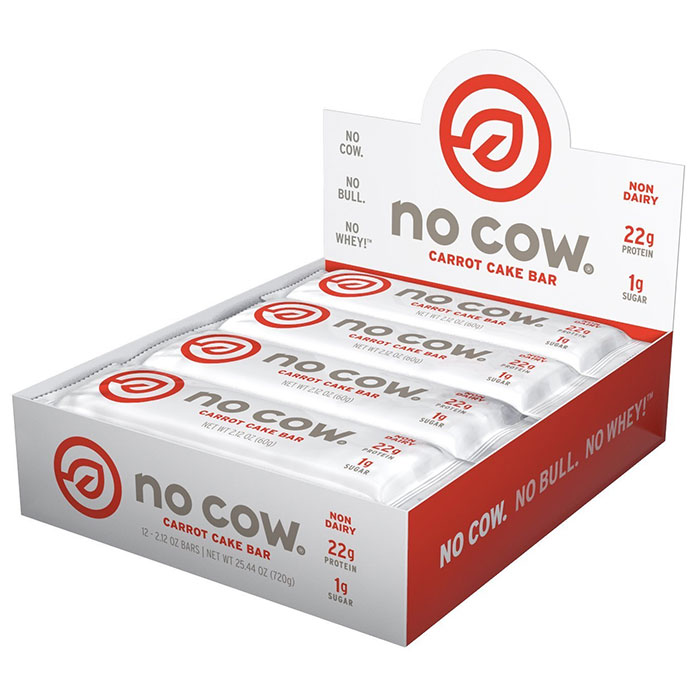 Image of No Cow No Cow Bars 12 Bars Carrot Cake
