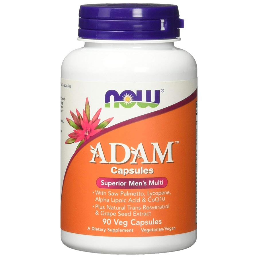 Image of NOW Foods Adam Superior Men's Multi 90 Capsules