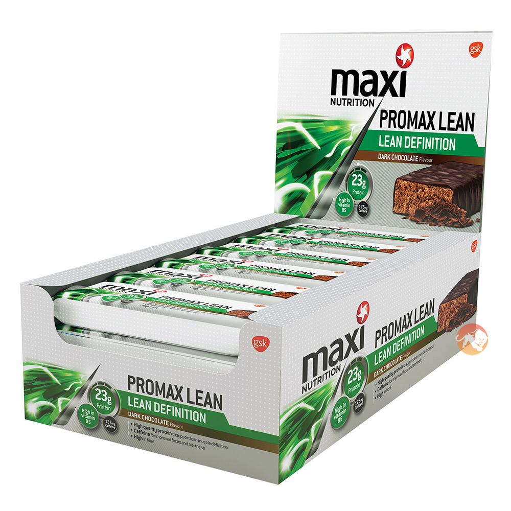 Promax Lean Bars 12 Bars - Chocolate Orange