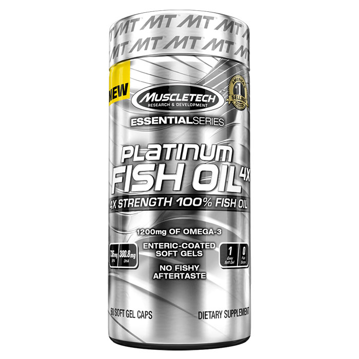 Platinum 100% Fish Oil 100 Softgels