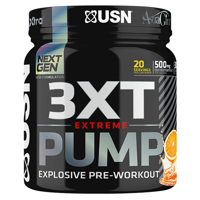 Image of USN 3XT Extreme Pump 20 Servings Cherry