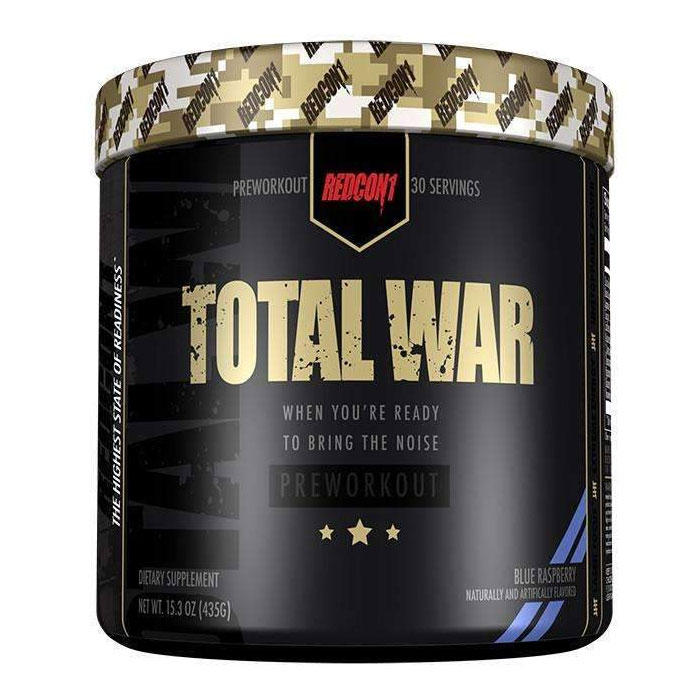 Total War 30 Servings Blue Raspberry