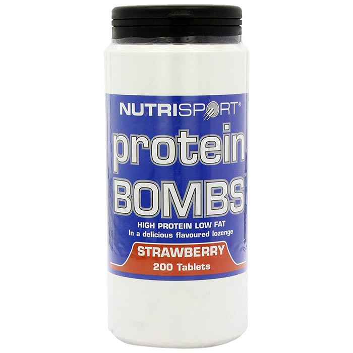 Image of Nutrisport Protein Bombs 200 Tablets Chocolate