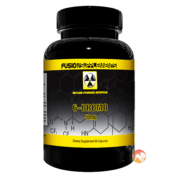 Image of Fusion supplements 6-Bromo 90 Caps